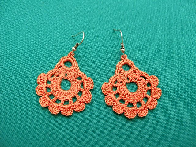 Ravelry: Crochet Earrings by Nez jewelry