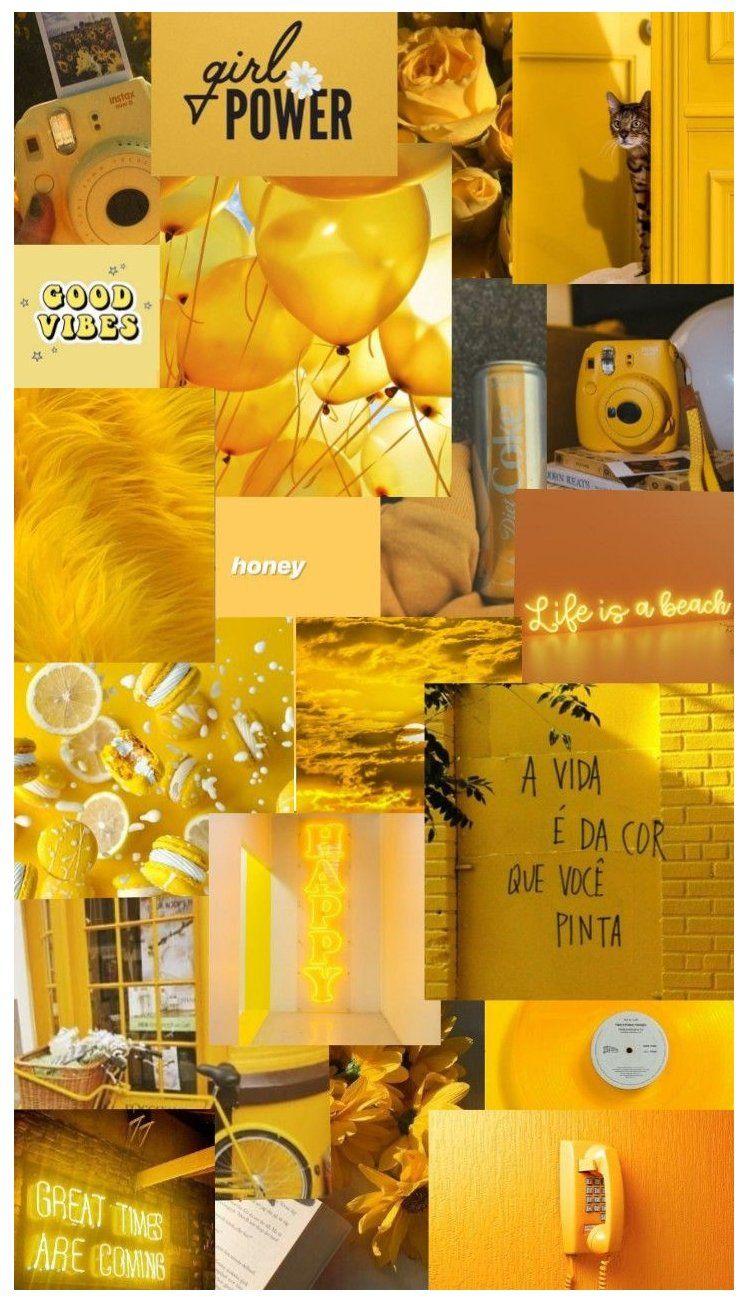 mustard yellow aesthetic wallpaper iphone