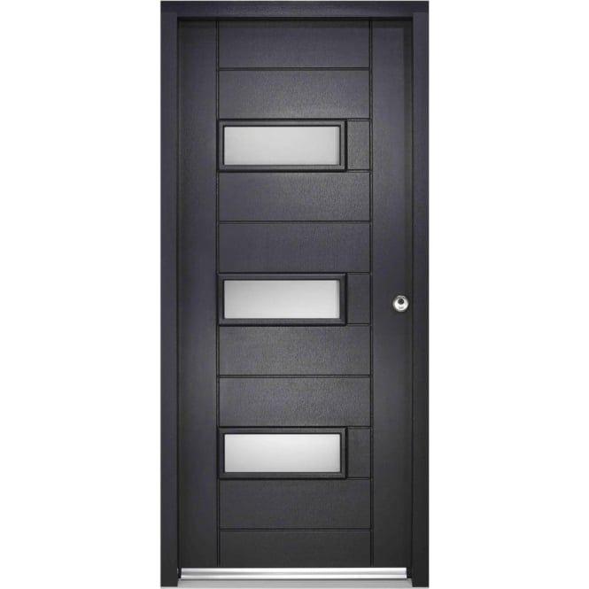 VAT LPD Doors External Portomaso Grey Pre-finished Frosted Glass Enduradoor  sc 1 st  Pinterest & 905 inc. VAT LPD Doors External Portomaso Grey Pre-finished Frosted ...