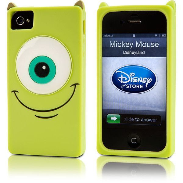 Mike Wazowski Iphone 4 4s Case Monsters Fundas Para Ipod Fundas Moviles Fundas Para Iphone