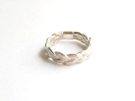 i love this so much weaved ring unique wedding bands - Bohemian Wedding Rings