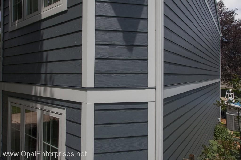 Say Hello To Evening Blue A James Har Colorplus Siding Color