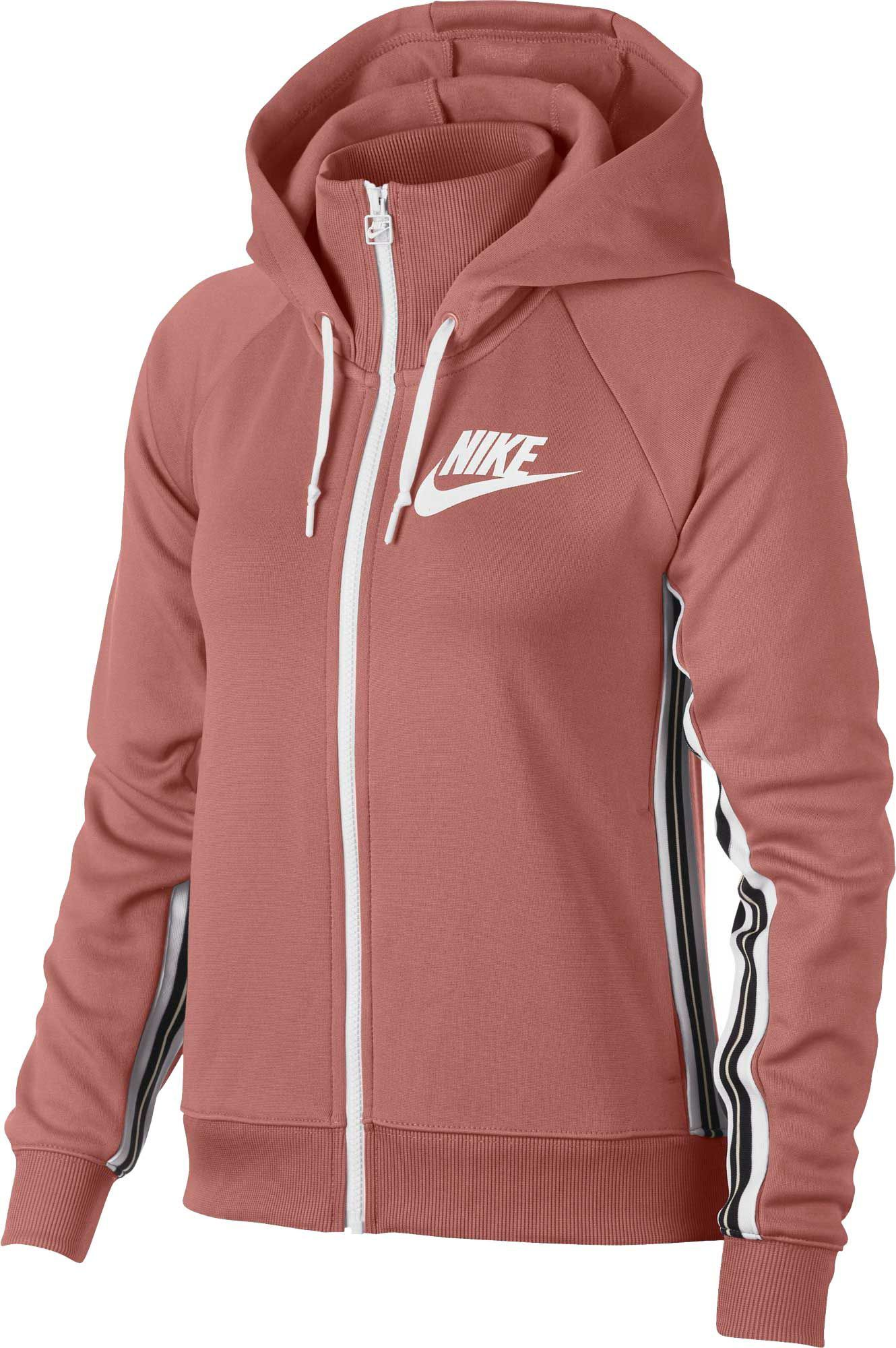830b9969e7 Nike Women s Sportswear Full-Zip Tracksuit Hoodie in 2019