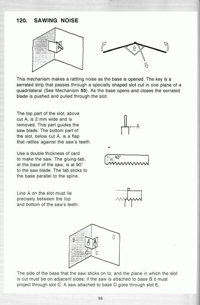 Pop up! a manual of paper mechanisms - duncan birmingham (tarquin - double lined paper