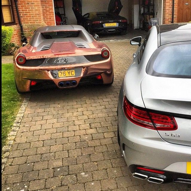 We Car: Thanks For Sharing Your 458 Plate @yiannimize, We Love
