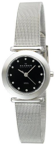Skagen Women`s 107SSSBD Stainless Steel Mesh Watch - Listing price: $100.00 Now: $45.43