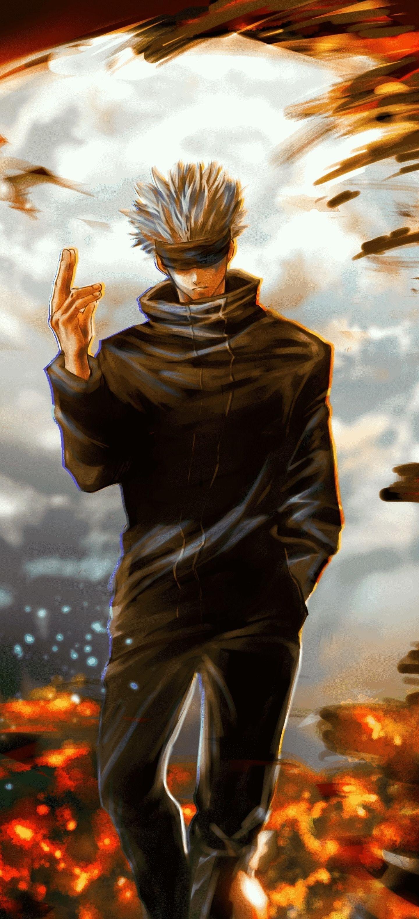 1440x3160 Satoru Gojo Jujutsu Kaisen 1440x3160 Resolution Wallpaper Hd Anime 4k Wallpapers Image Photos And Backgrounds Jujutsu Anime Fight Anime Wallpaper