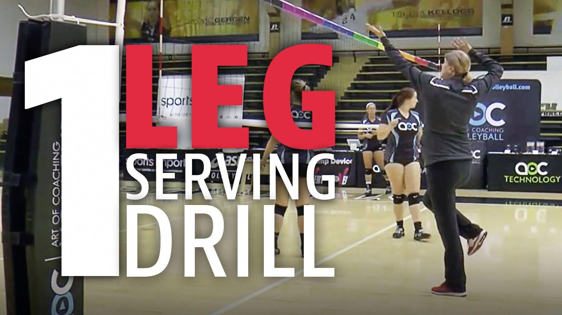 Check Out This Great Serving Progression For Beginners That Starts On One Leg Tennistipsforbeginne Basketball Workouts Coaching Volleyball How To Play Tennis