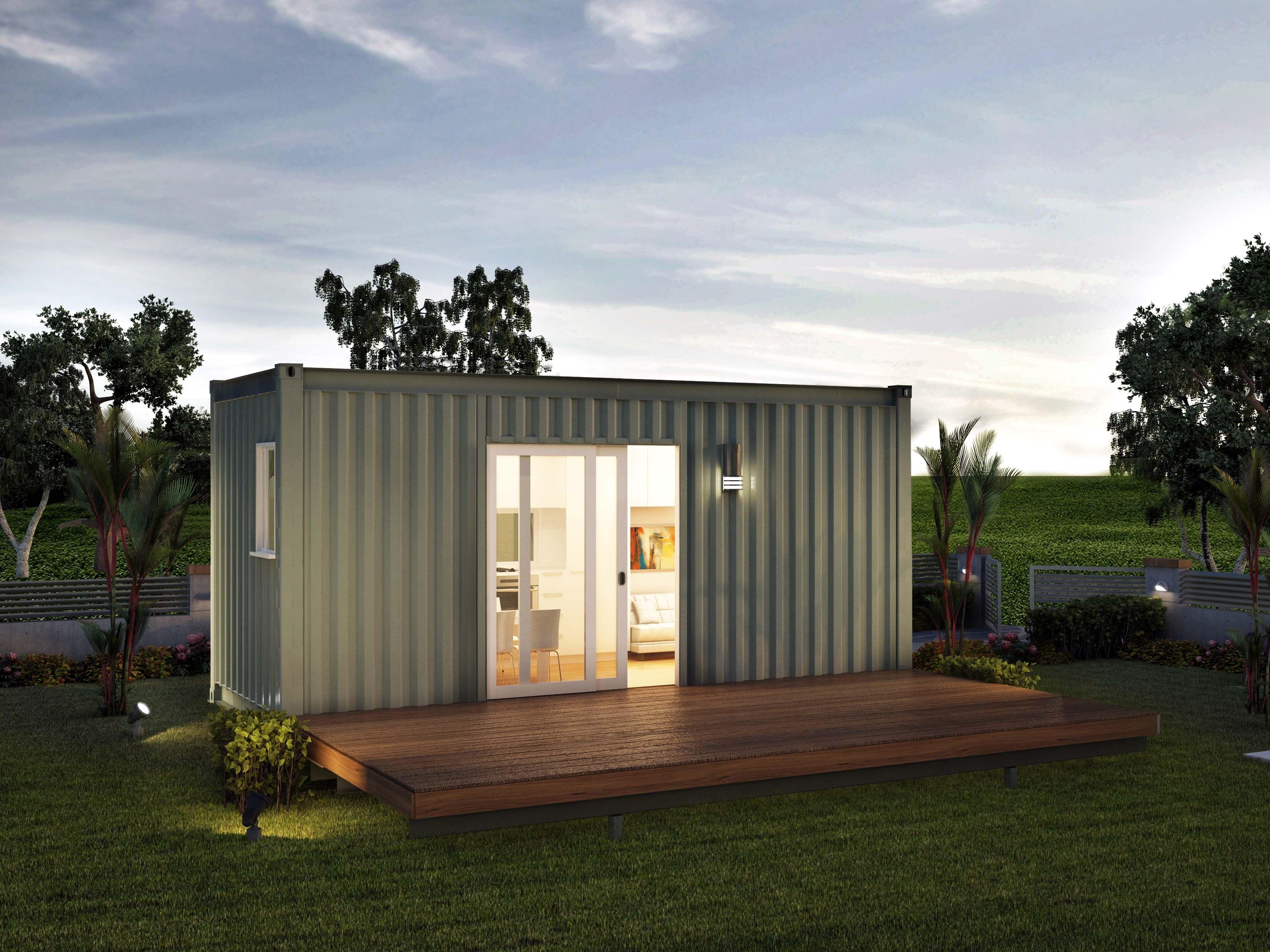 Nova Deko Granny Flat Studio Santa Fe Prefabricated One Bed Modular ...