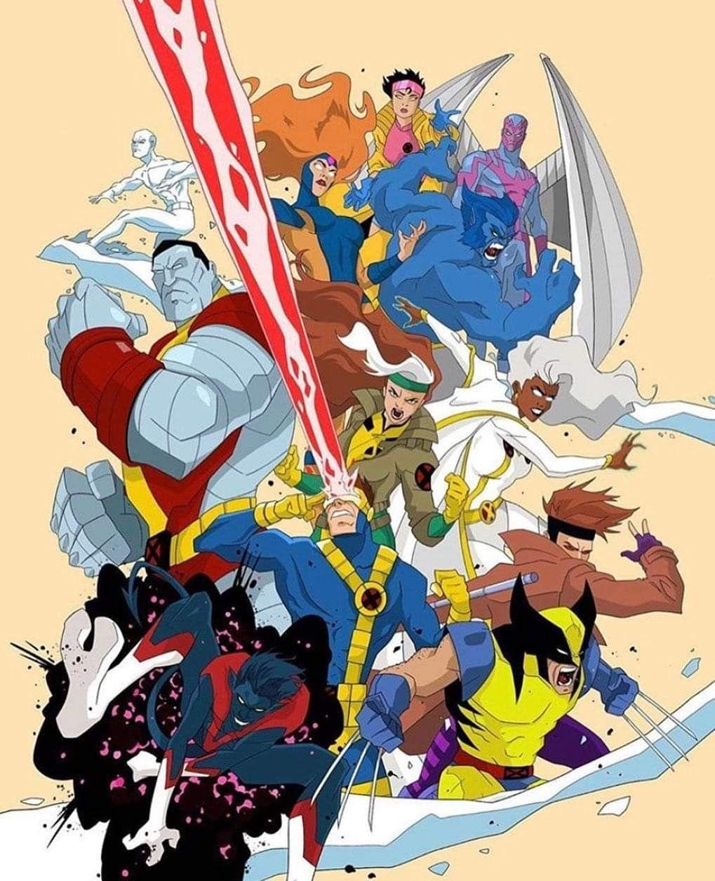 X Men 90 S In 2020 Marvel Comics Art Marvel Comics Vintage Wolverine Art