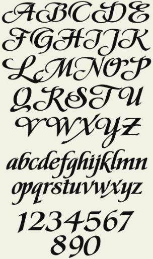 Tätowierungs-Schriftart-mutiger Stil 23+ Superideen