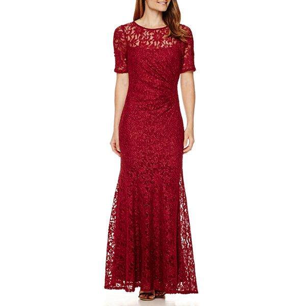 4be613314a3 One By Eight Short-Sleeve Lace Formal Gown - JCPenney