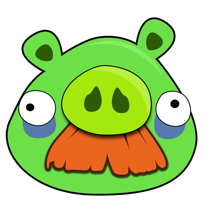 angry bird pig template pig angry bird template google search angry bird