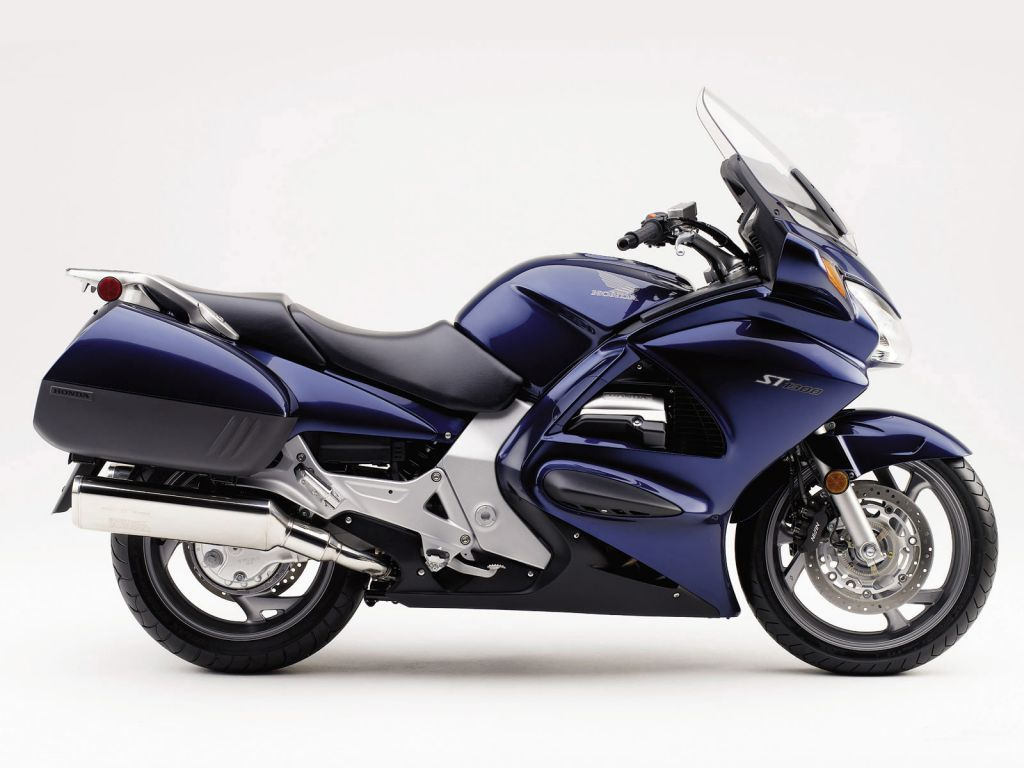 Honda ST1300 They say Blue is the fastest color. Honda