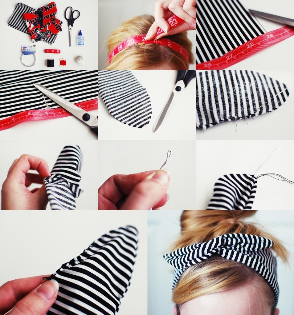 Hair Accessories Diy Pinterest - Something monumental diy rockabilly headband