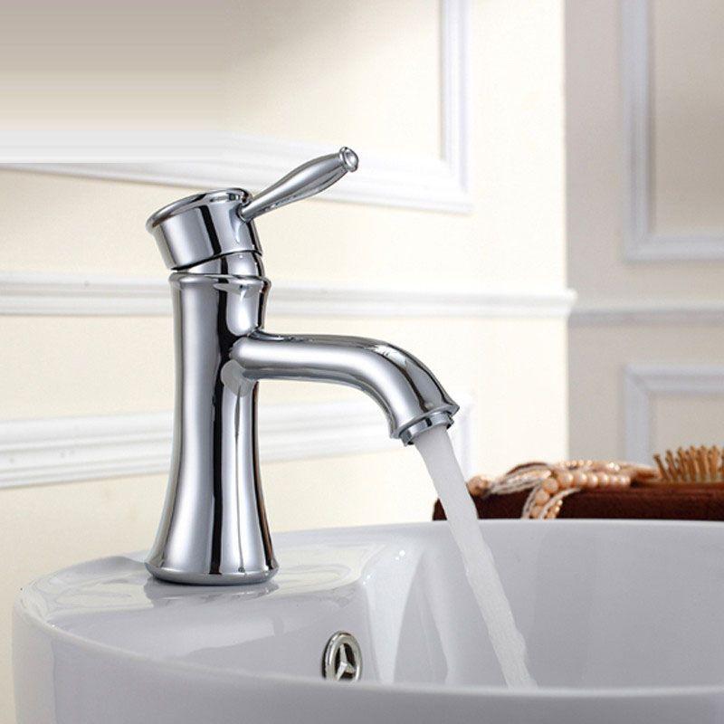 Wholesale And Retail Deck Mount Waterfall Bathroom Faucet Vanity ...