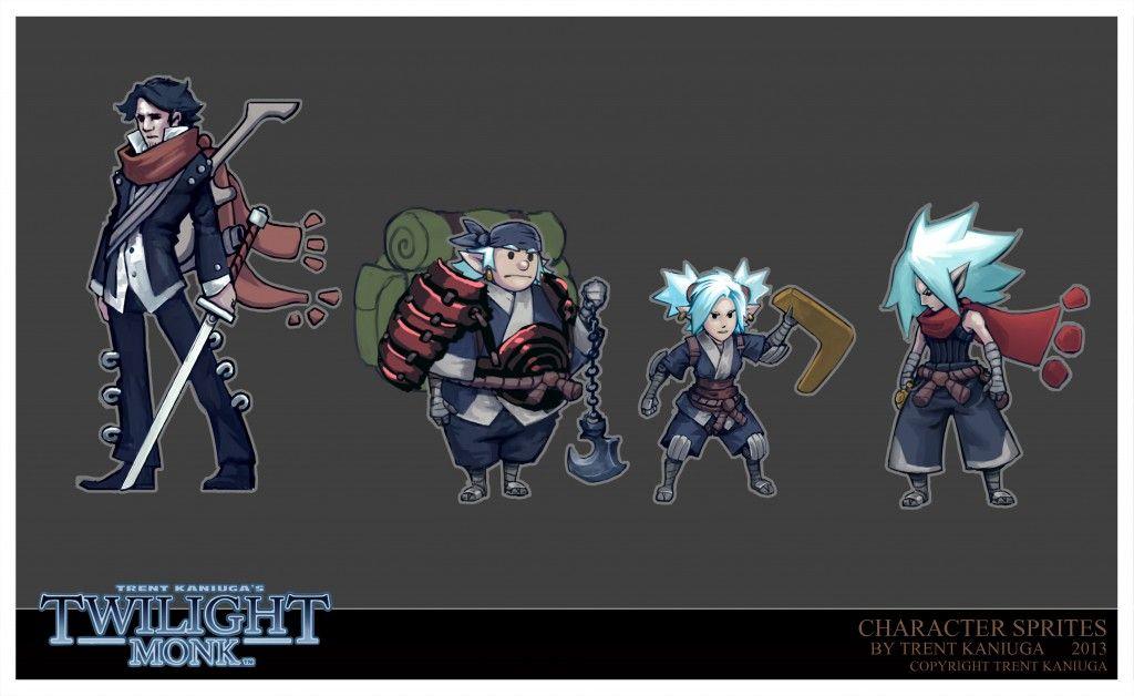Twilight Monk Concept Art 11 Characters Concept Art Art