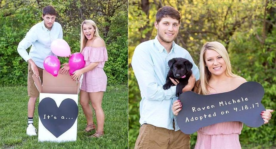 Couple Does The Sweetest Photoshoot To Announce The Arrival Of The