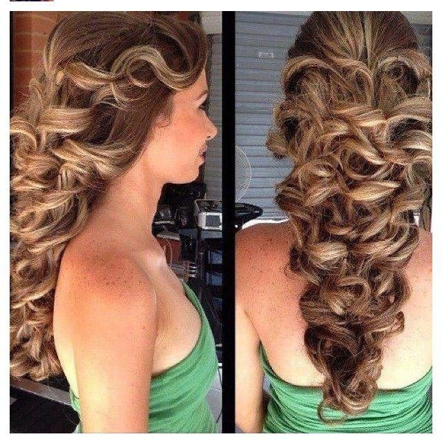 Hairstyle Mermaid Hair | Mermaid hairstyle. | Mermaid Hair Ecstasy ...