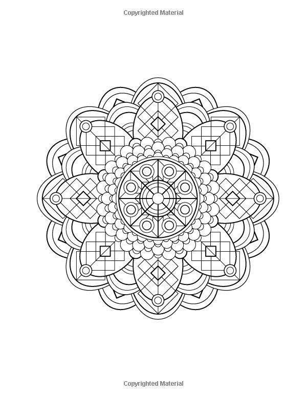 Coloring pages wind chimes ~ Mandala Design Coloring Book: Volume 1: Jenean Morrison ...