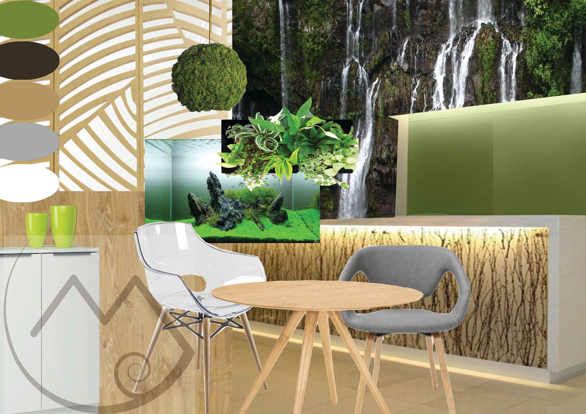 Ambiance végétale, design chic et épuré pour l\'aménagement d\'un ...