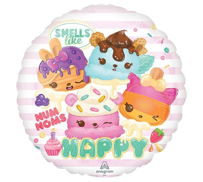 NUM NOMS 6TH BIRTHDAY Party Balloons Decoration Supplies Sprinkles Truck Candy