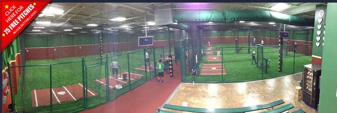 Dbat Baseball Camps Baseball Camp Indoor Batting Cage Batting Cages