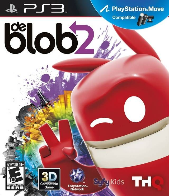De Blob 2 My Playstation 3 Game Collection Juegos Pc Ps4 Juegos