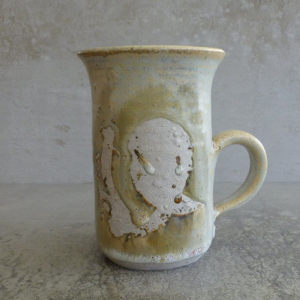 Fay Eastwood Pottery Coffee Mug 400mls Australian Studio