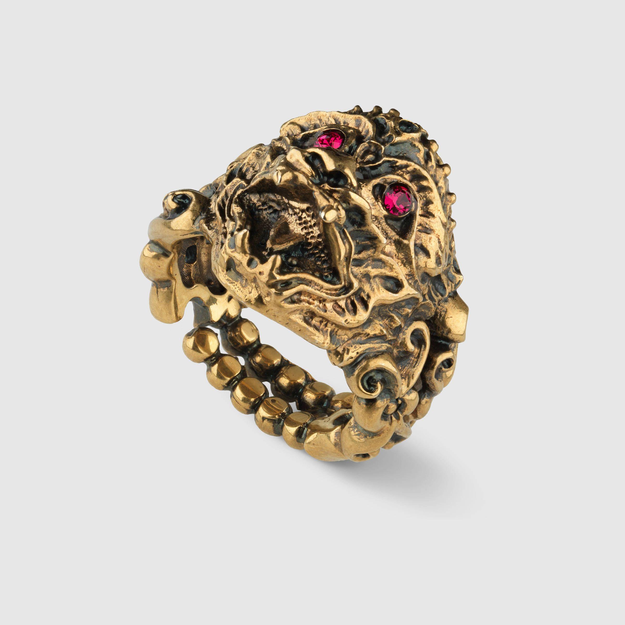 dcbf743ba Gucci Monkey head ring Detail 2 | Skyler Grand: Fashion | Gucci ...