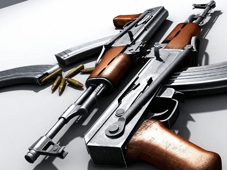 AK 47 By NdotL On DeviantART