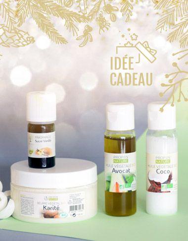 Coffret cosmétique maison – Baume nutritif Avocat & Karité