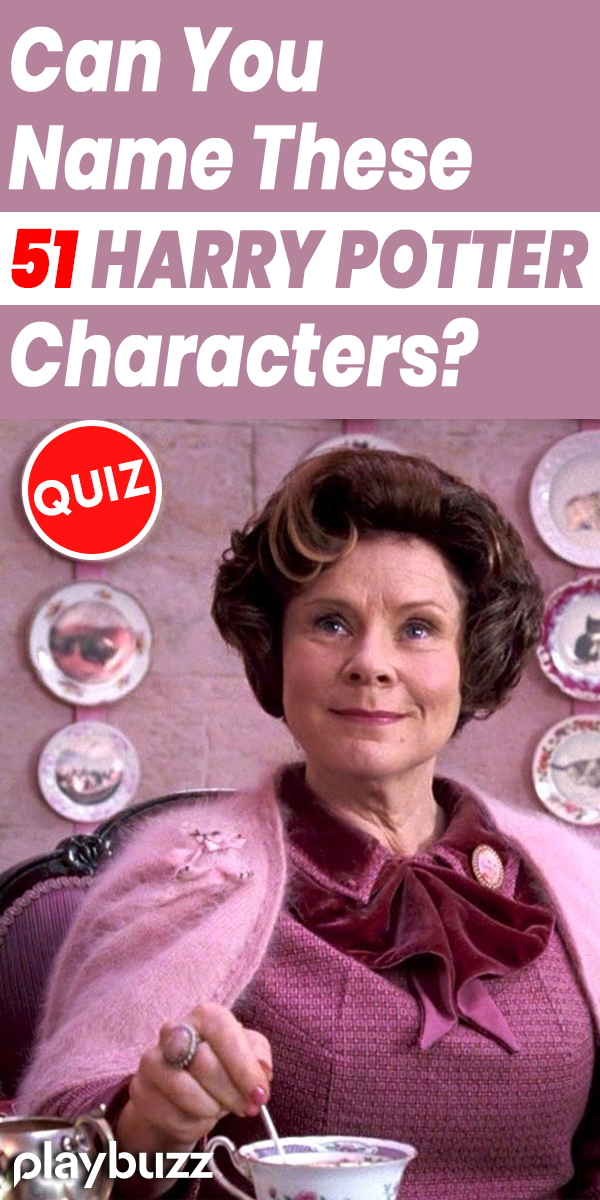 Can You Name These 51 Harry Potter Characters? | ME | Harry