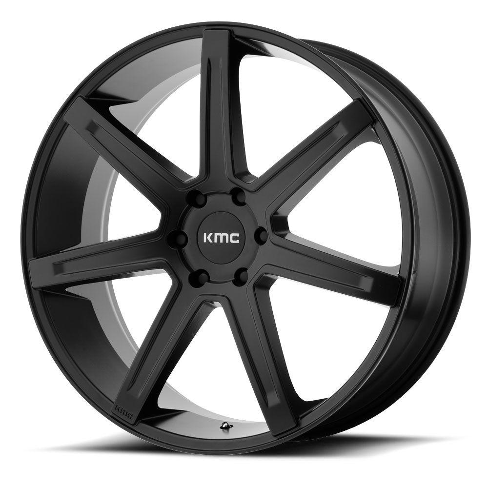"""KMC XD KM700 Revert, 20"""" & 22"""", Satin Black Wheel rims"""