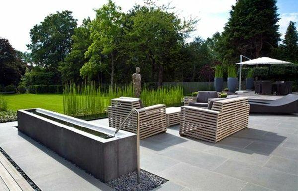 Salon De Jardin Moderne. Salon De Jardin En Rsine Moderne Meuble ...