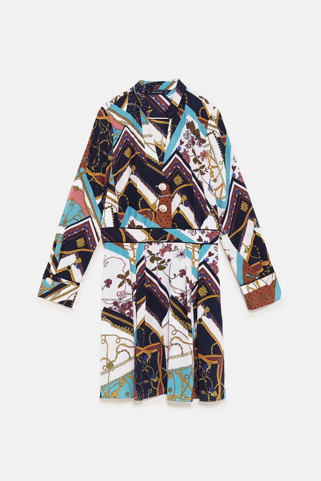 c16755f0 Image 8 of CHAIN PATCHWORK PRINT DRESS from Zara | Wardrobe - Nov 18 ...