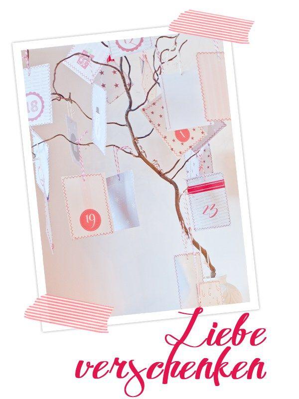 Hallo Ihr Lieben! Endlich geht es los mit der Cozy & Cuddly- Adventskalender-Aktion.Es gibt jeden Tag eine tolle DIY-Idee: Weihnachtliche Rezepte für kleine Geschenke oder euer Adventsmenu, Tischdekorationen, Karten und Geschenkanhänger für euch zum Ausdrucken... #a #advent #adventskalender2012