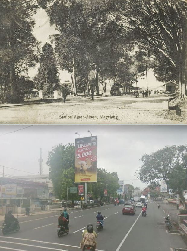 MAGELANG, Now and Then Indonesia, Indie, Magelang