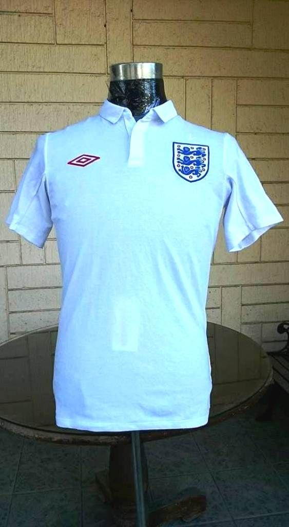 England World Cup 2010 Qualification Jersey Shirt Jersey Shirt Vintage Jerseys Mens Tops