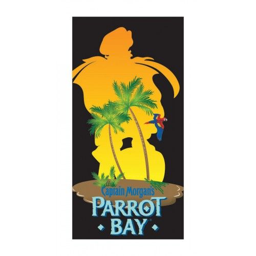 Captain Morgan Parrot Bay Beach Towel Official From This Measures 34 X 63
