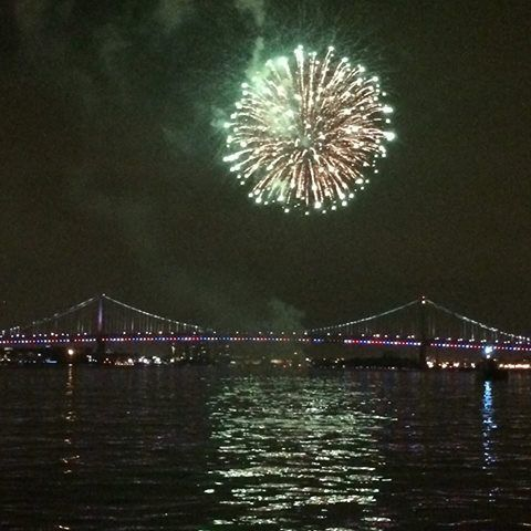 We're getting more than a little excited for fireworks cruises this weekend!