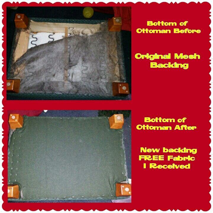 6/2 Hubby helped fix my ottoman this weekend. #superhubby, #freefix, #goodasnew, #perfectmatch,