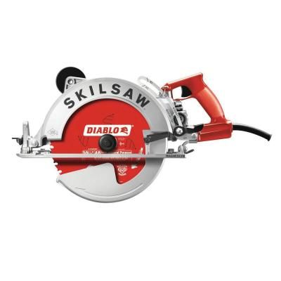 Skilsaw 15 Amp Corded Electric 10 1 4 In Magnesium Sawsquatch Worm Drive Circular Saw With 40 Tooth Diablo Carbide Blade Spt70wm 22 In 2020 Worm Drive Circular Saw Skil Saw Circular Saw Reviews