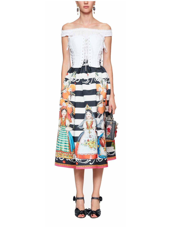 Dolce & Gabbana Cotton Corset Image 0