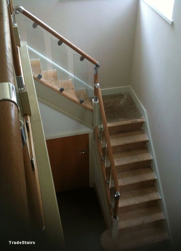 Fusion Stair Conversion Glass Shelves Glass Stair Balustrade