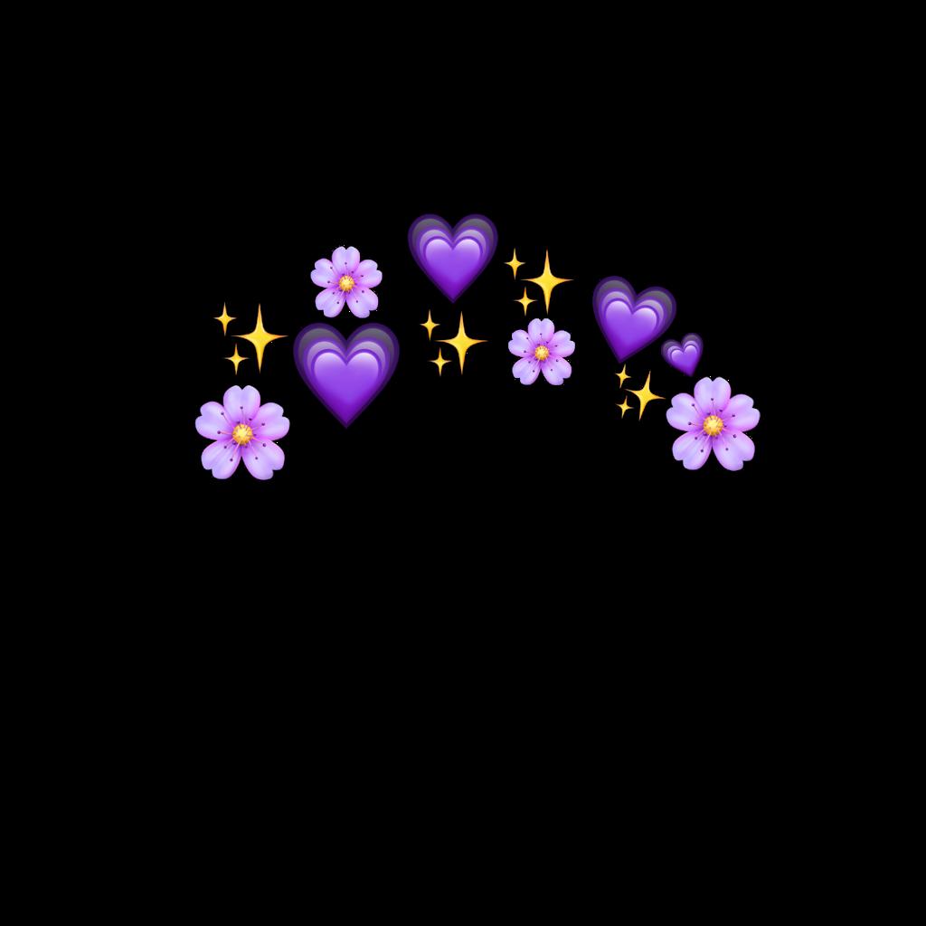 emoji freetoedit Emoji flower, Emoji stickers, Purple