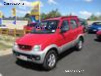 Daihatsu Terios Wild 15 4x2 With Images Daihatsu Terios