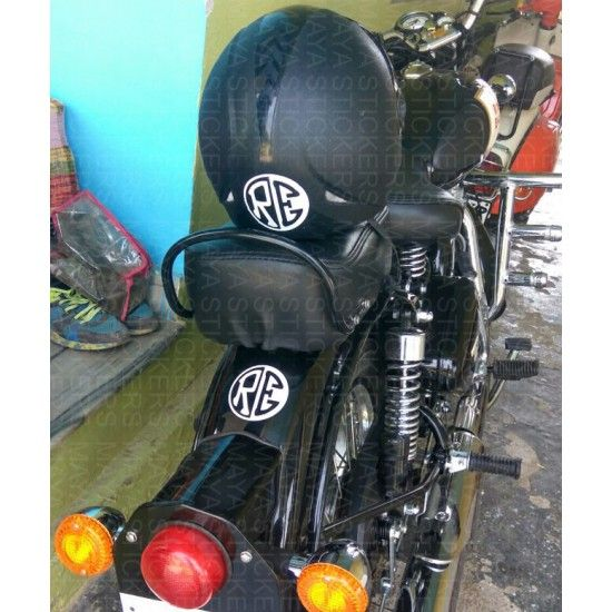 RE Negative Positive Logo Decal Is Designed In Such A Way That R - Classic motorcycle custom stickers