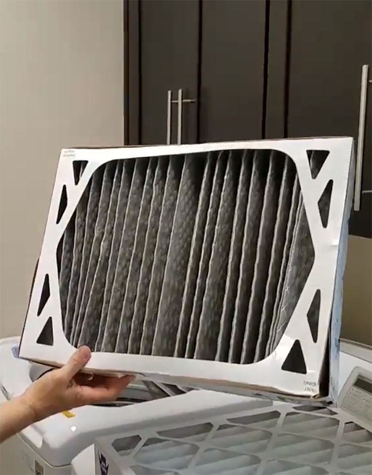 20x20x1 air handler air filter insert Air handler, Air