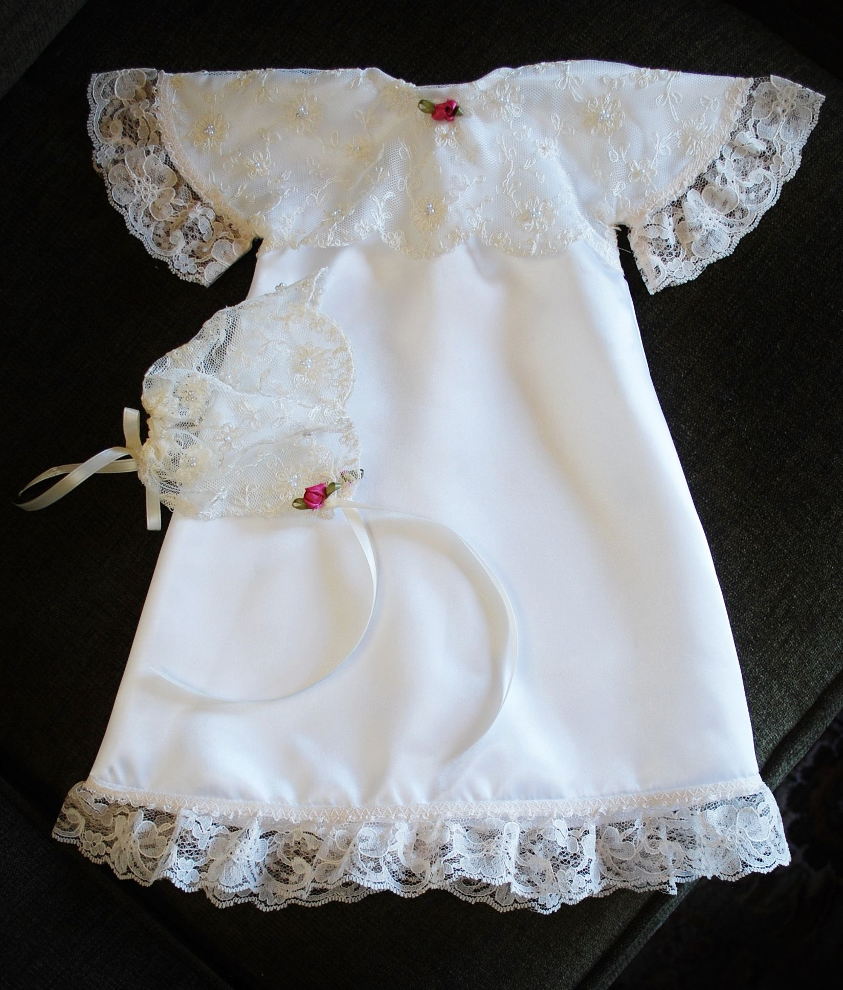donated weddg dresses, infant burial gowns and wraps free of charge ...